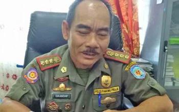 Kepala Satpol PP Mura, Iskandar.
