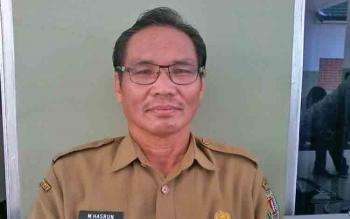 Kepala Badan Kepegawaian Daerah (BKD) Kabupaten Katingan M Hasrun.