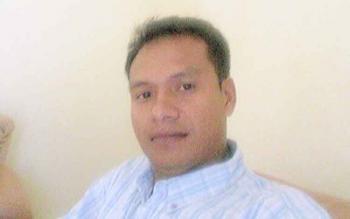 Ramlin Mashur, korban penipuan.