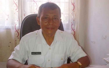 Bambang Purwadi Kabid Administrasi Pemerintahan Desa dan Kelembagaan pada Dinas Sosial Pemberdayaan Masyarakat Dan Desa (DSPMPD) Barsel.