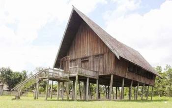 Rumah Betang Pasir Panjang akan dijadikan lokasi pelaksanaan sidang adat.