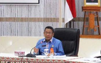 Penjabat Sekretaris Daerah Kalteng Sahrin Daulay