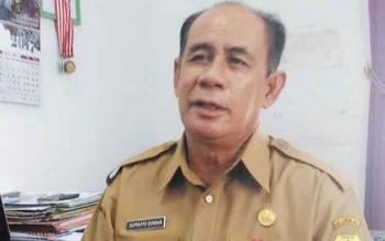 Koordinator Seksi Olahraga, Perlombaan dan Jalan Sehat Panitia Hari Jadi Kabupaten Gunung Mas, Suprapto Sungan.