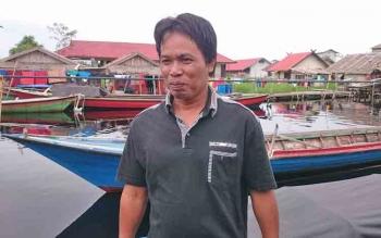 Kepala Desa Sebangau Jaya Rudiansyah.