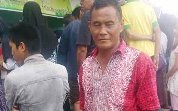Anang Abdullah, ketua RT 03 Kelurahan Mendawai Seberang.