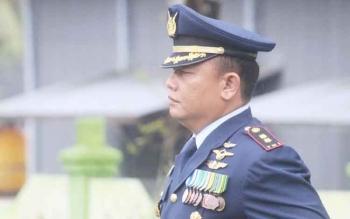Mantan Danlanud Iskandar Pangkalan Bun Letkol Pnb Ucok Enrico Hutadjulu.