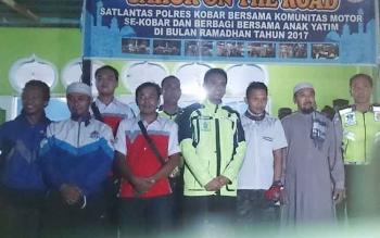 Kegiatan sahur on the road bersama Satlantas Polres Kobar mempunyai kesan mendalam bagi 200 rider yang tergabung dalam 20 club dan komunitas.