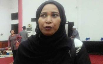 Mukarramah, Anggota Komisi C DPRD Kota Palangka Raya.