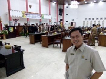 Anggota DPRD Kota Palangka Raya,AT Prayer