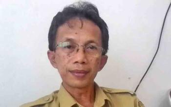 Kepala Bidang Kelembagaan Kemasyarakat Desa dan Kelurahan Selamet Sentosa