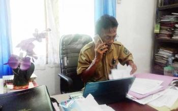 Kepala Kelembagaan Kemasyarakat Desa dan Kelurahan Selamat Sentosa