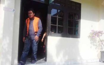 Jati Ariyanto, terdakwa kasus sabu.