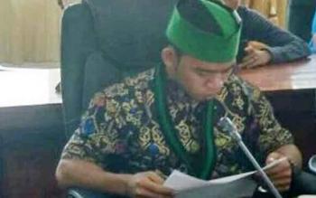 Ketua Umum HMI Cabang Kuala Kapuas, Muhammad Mirza.