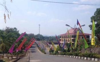 Komplek perkantoran Pemkab Murung Raya.