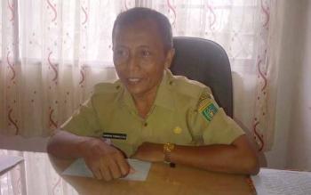 Kabid Administrasi Pemerintahan Desa dan Kelembagaan DSPMD Kabupaten Barito Selatan Bambang Purwadi.