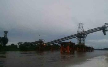 Fasilitas milik salah satu perusahaan batu bara di Kabupaten Murung Raya.