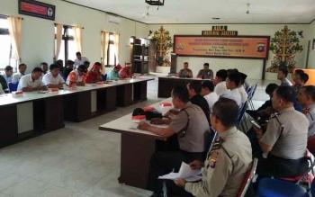 Rapat Operasi Ramadniya Telabang 2017 yang dilaksanakan oleh Polres Barito Utara