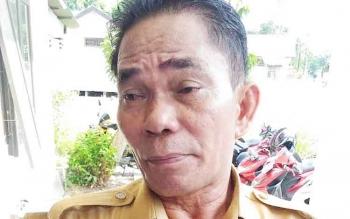 Kepala Dinas Sosiak Kabupaten Gunung Mas Budhy.