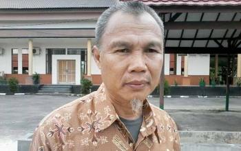 Kepala Dinas Koperasi, UKM Perdagangan dan Perindustrian Kabupaten Katingan, Saptul Anwar.