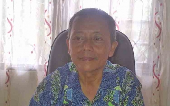 Bambang Purwadi Kabid Adminitrasi Pemerintahan Desa dan Kelembagaan DSPMD Barsel