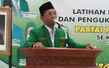 Ketua DPW PPP Kalteng, Awaludin Noor.