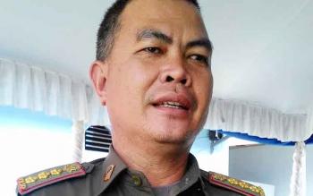 Baru I Sangkai, kepala Satpol PP Palangka Raya.