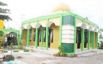 Musala Al Danindra di lingkungan Pengadilan Negeri Buntok, Kabupaten Barito Selatan.