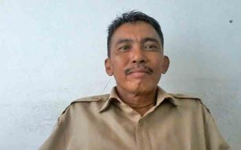 Kepala Bidang Ketenagakerjaan Dinas Transmigrasi dan Tenaga Kerja Katingan, Jhoni Khristiman.