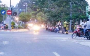 Aksi balapan liar di jalan Sutan syahrir Pangkalan Bun, ditenggarai bahwa pelaku bali ini bukan warga Kobar.