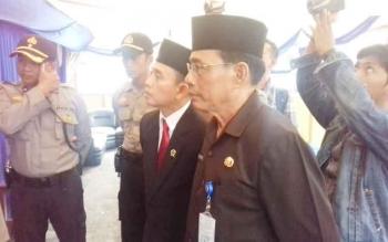 Assiten I Setda Kotim H Sugian Noor saat hadir pada acara operasi Ramadnya di Taman Kota Sampit.