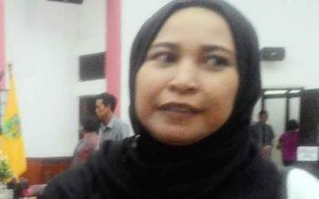 Anggota Komisi C DPRD Kota Palangka Raya Mukarramah.