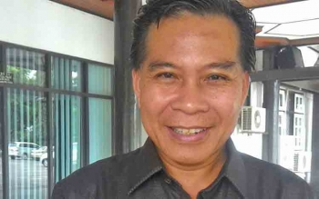 Ketua DPRD Kabupaten Kapuas Algrin Gasan S .Hut Politisi Partai Golkar.