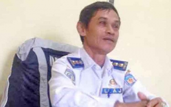 Kepala Bidang Lalu Lintas Angkutan Jalan (LLAJ) pada Dinas Perhubungan (Dishub) Kabupaten Murung Raya (Mura), Usis N Djapar
