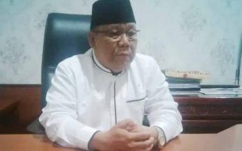 Ketua DPRD Kabupaten Mura, Gad F Silam.