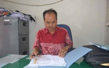 Yus Bimantoro, Kabid Pengawasan Hubungan Industri dan Jamsosker pada Dinas Tenaga Kerja dan Transmigrasi Kabupaten Barito Selatan