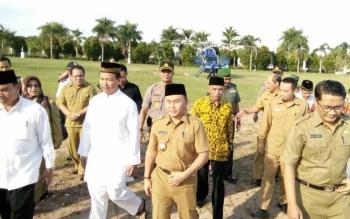 Agenda Safari Ramadan, Gubernur Kalteng Tiba di Nanga Bulik
