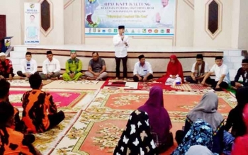 DPD KNPI Kalimantan Tengah menggelar buka puasa bersama pemuda, Selasa (20/6/2017).