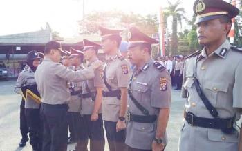 Tiga Jabatan di Polres Kotim Diisi Perwira Baru, Ini Pesan Kapolres