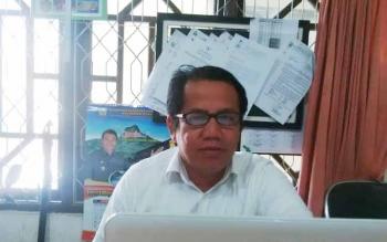 Kabid Pemerintahan Desa dan Kelurahan pada Dinas Pemberdayaan Masyarakat dan Desa (DPMD) Kabupaten Mura, Hendri Silvanus.