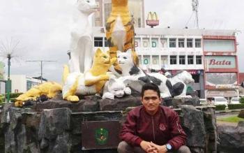 Akhmad Kamil Rizani, mahasiswa Fakultas Syari\'ah Jurusan Hukum Keluarga di IAIN Palangka Raya