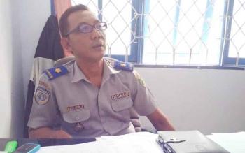 Kepala Bidang LLAJ Dinas perhubungan Kabupaten Barito Utara Maul Udin A.