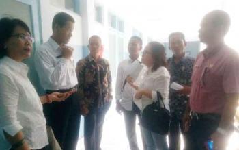 Anggota DPRD Komisi IV Inspeksi mendadak ke RSUD Kuala Kapuas dr H Soemarno Sosoro admojho.