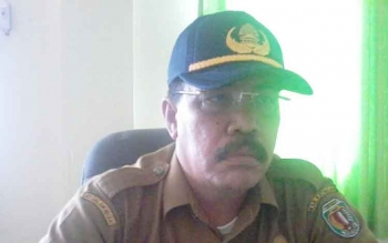 Kepala Dinas Kependudukan dan Pencatatan Sipil Kabupaten Katingan Bambang Harianto.