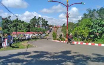 Komplek perkantoran Pemda Mura yang berada di Jalan Letjen Sueprapto, Kota Puruk Cahu, Kamis (22/6/2017).