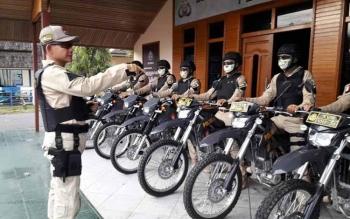 Kapolres Barito Selatan AKBP Yussak Angga saat memimpin Crisis Response Team (CRT.