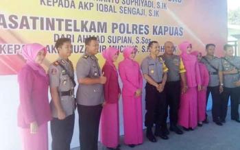 Dua Perwira di Jajaran Polres Kapuas Bergeser