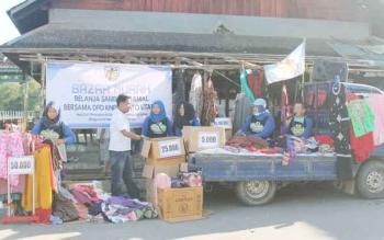 Bazzar Murah yang diadakan KNPI Barito Utara