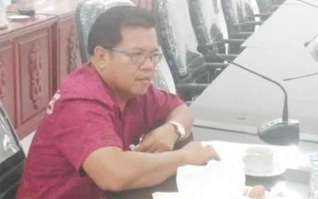 Anggota DPRD Kabupaten Gunung Mas Edyson D Kenting.