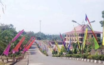Suasan perkantoran Pemkab Murung Raya