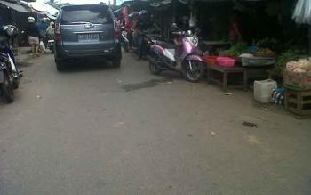 Tahu dan tempe di Pasar Kasongan, Kabupaten Katingan, kosong sejak sehari setelah Idul Fitri.